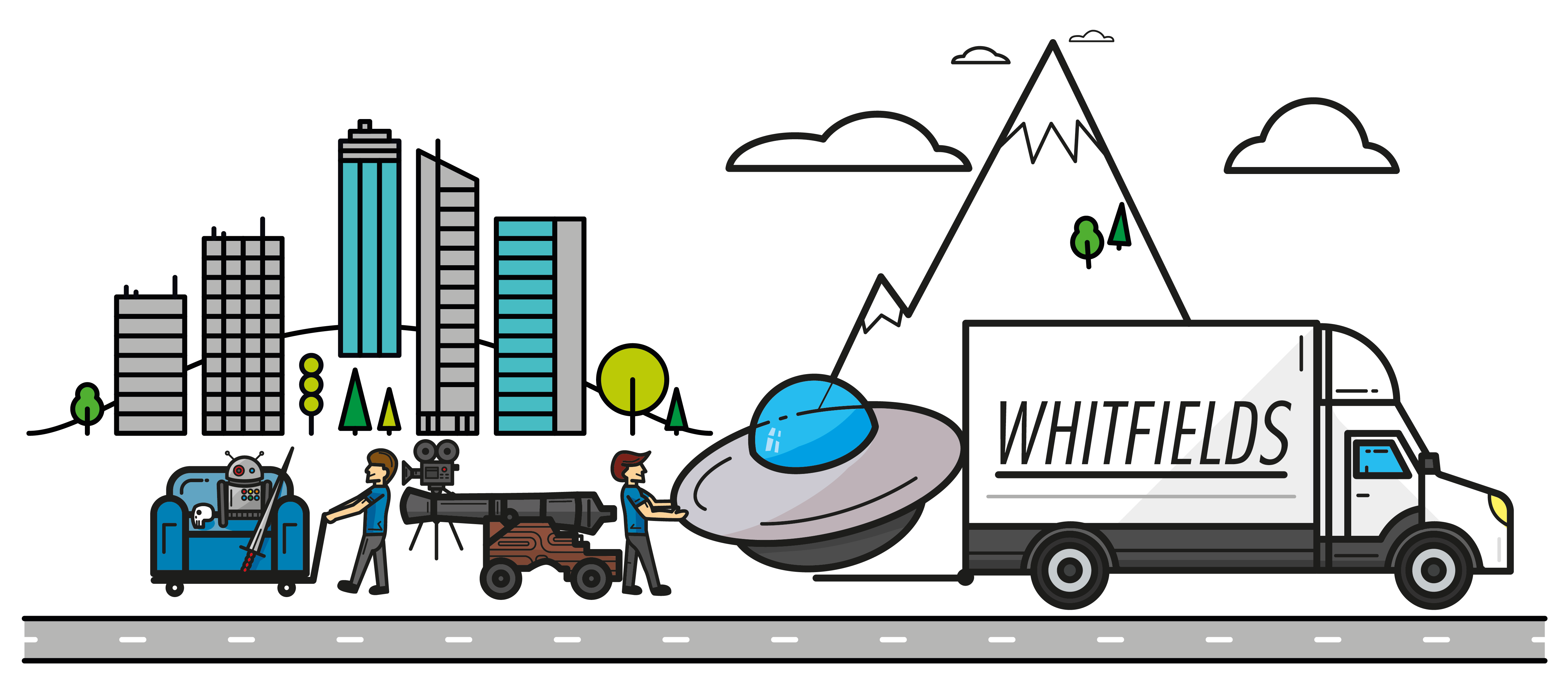 Header image showing Whitfields at work