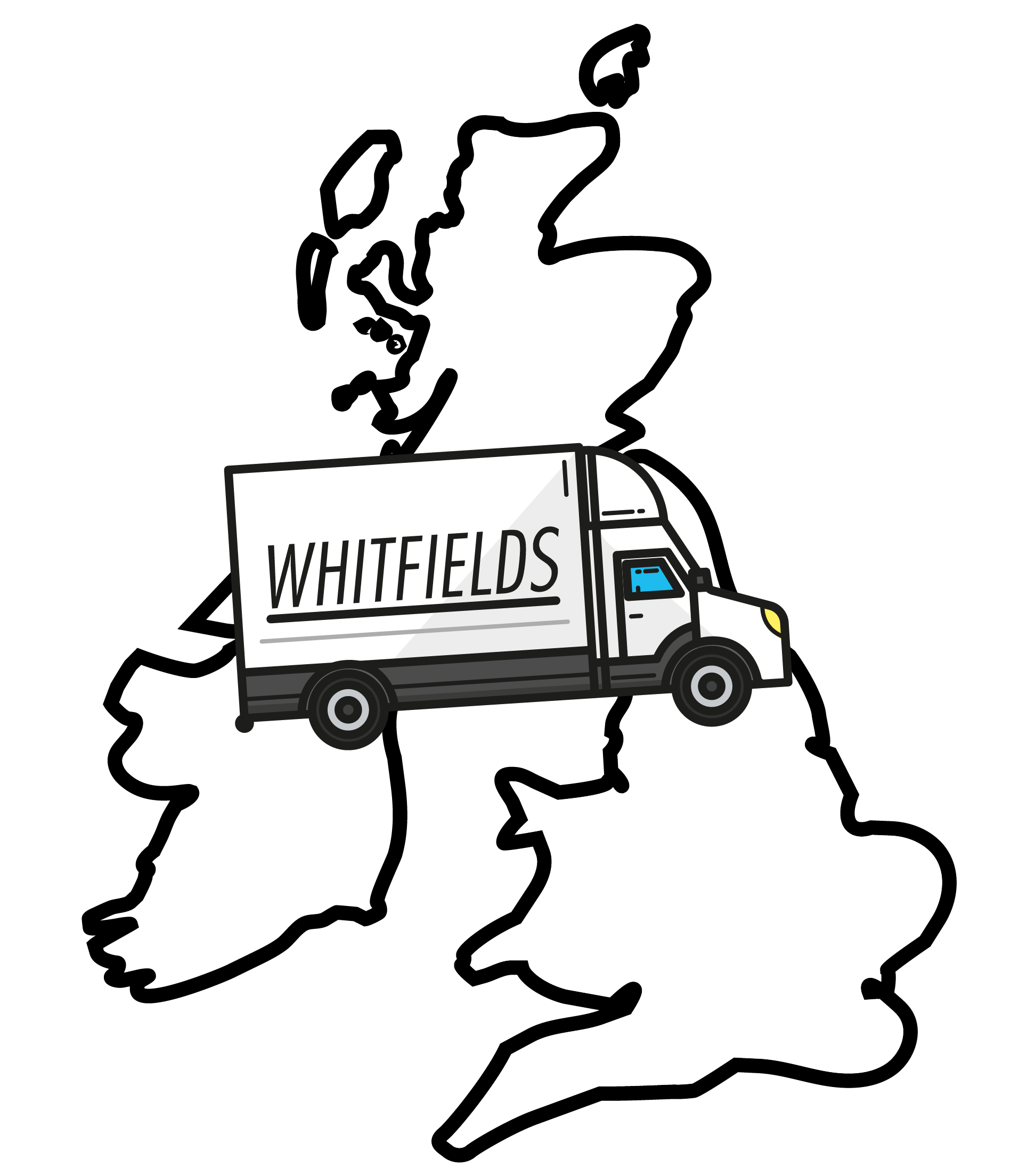 Illustration of the UK