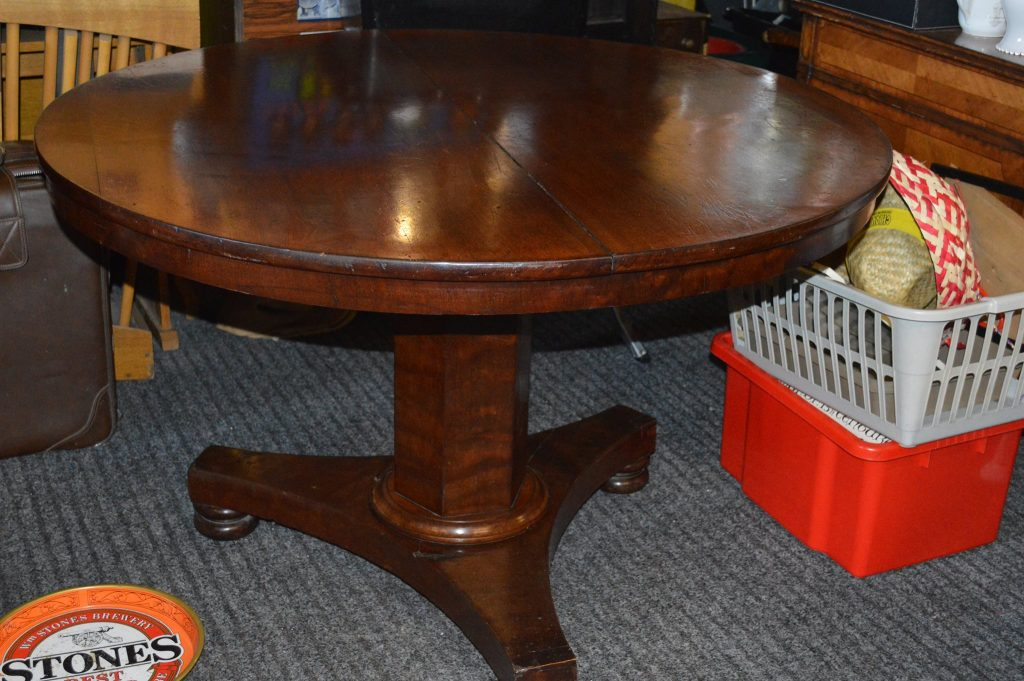 Image of antique table